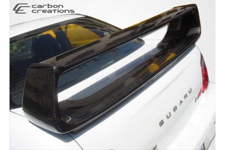 2007 Subaru Impreza Carbon Creations STI Look Spoiler