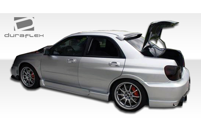 2007 Subaru WRX Duraflex I-Spec Sideskirts