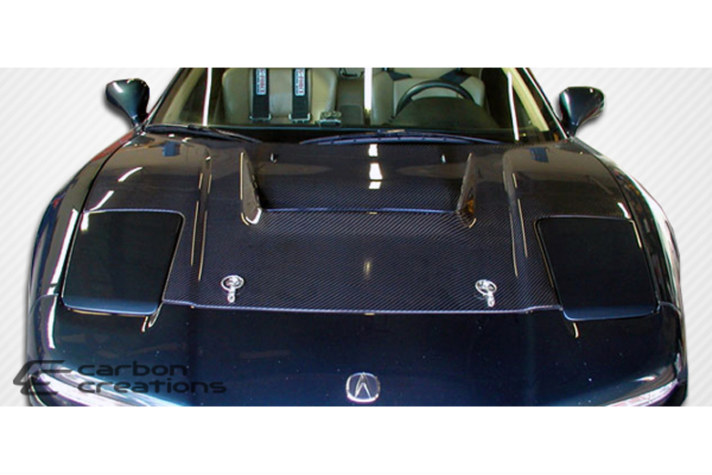 2003 Acura NSX Carbon Creations Type R Hood
