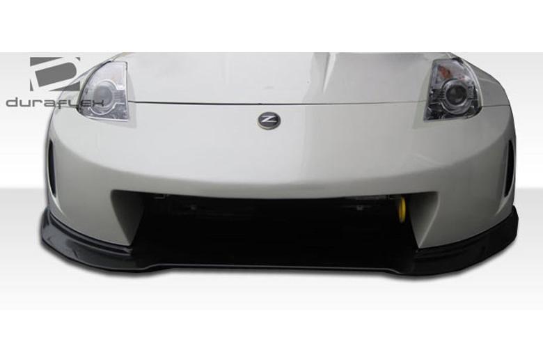 2009 Nissan 350Z Duraflex AM-S Front Lip (Add On)