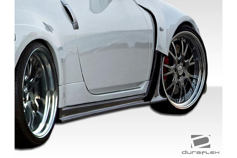 2009 Nissan 350Z Duraflex AM-S Sideskirts