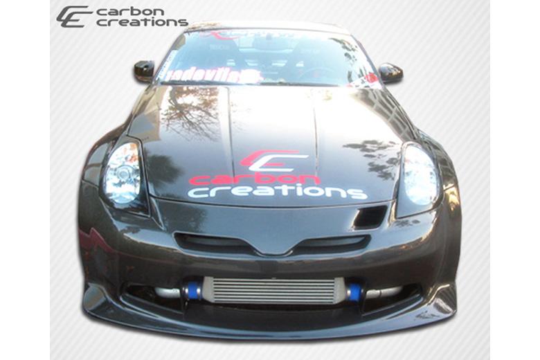 2004 Nissan 350Z Carbon Creations C-2 Bumper (Front)