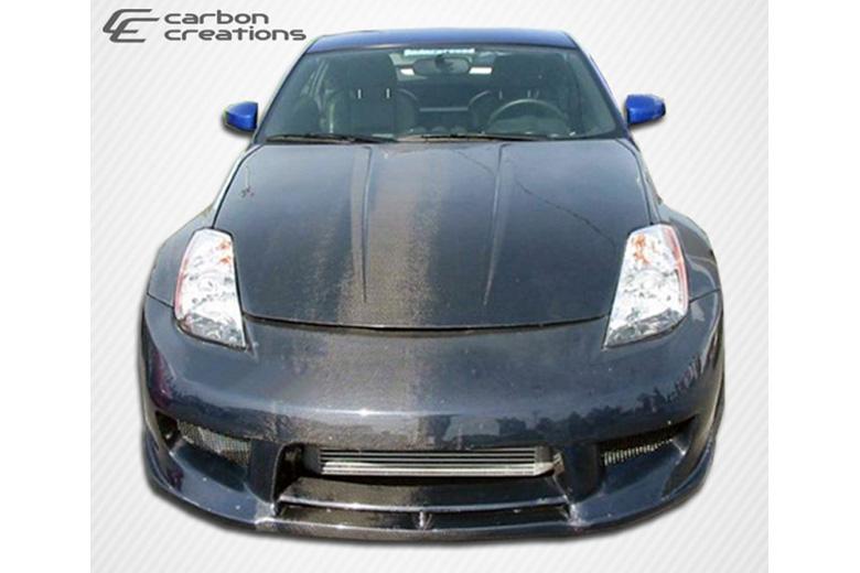 2004 Nissan 350Z Carbon Creations Drifter 2 Bumper (Front)