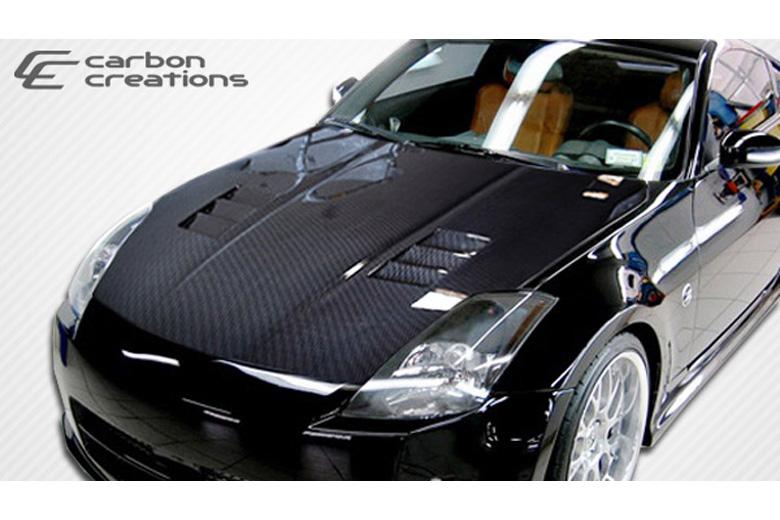 2004 Nissan 350Z Carbon Creations JGTC Hood