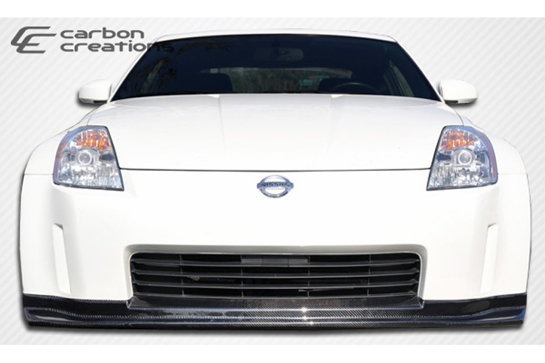 2005 Nissan 350Z Carbon Creations N-1 Front Lip (Add On)