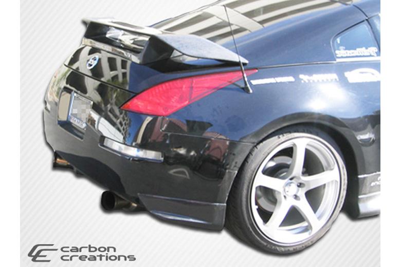 2007 Nissan 350Z Carbon Creations N-1 Rear Lip (Add On)
