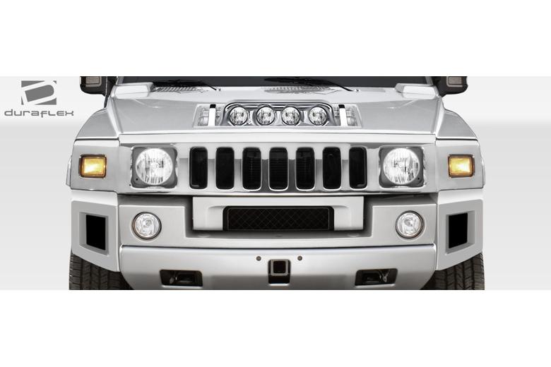 2004 Hummer H2 Duraflex BR-N Fog Light Panel