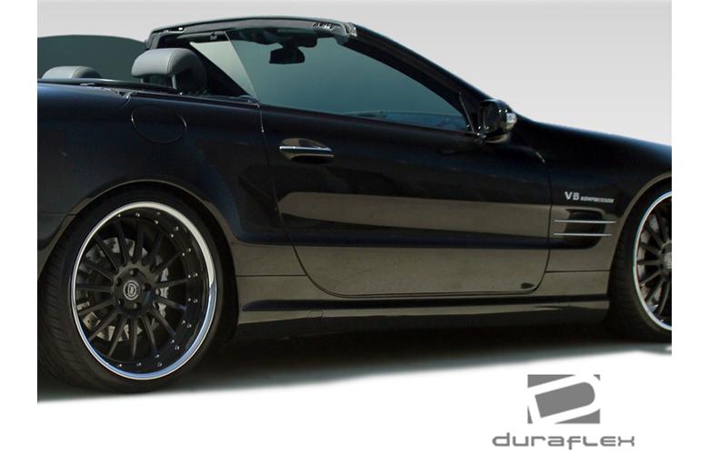 2011 Mercedes SL-Class Duraflex AMG Look Sideskirts