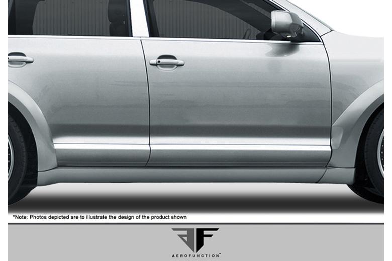 2003 Porsche Cayenne Aero Function AF-1 Sideskirts