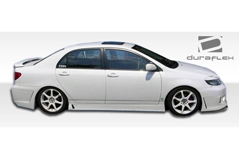 2008 Toyota Corolla Duraflex B-2 Sideskirts