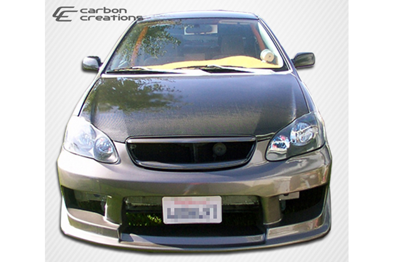 2007 Toyota Corolla Carbon Creations Hood