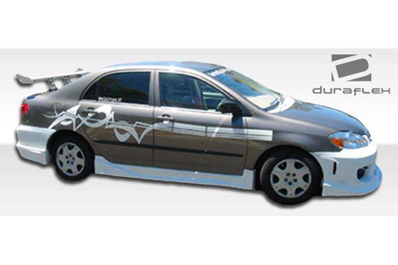 2008 Toyota Corolla Duraflex Drifter Sideskirts