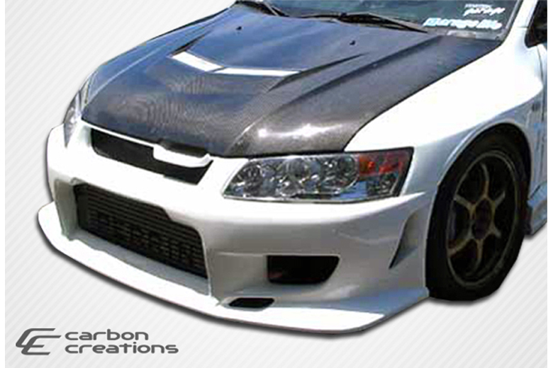 2006 Mitsubishi Evolution Carbon Creations Vader 2 Hood