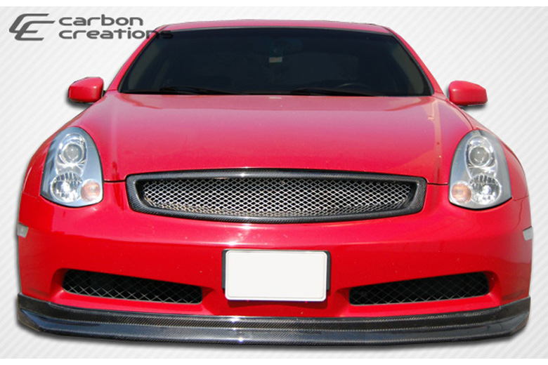 2004 Infiniti G35 Carbon Creations D-Spec Front Lip (Add On)