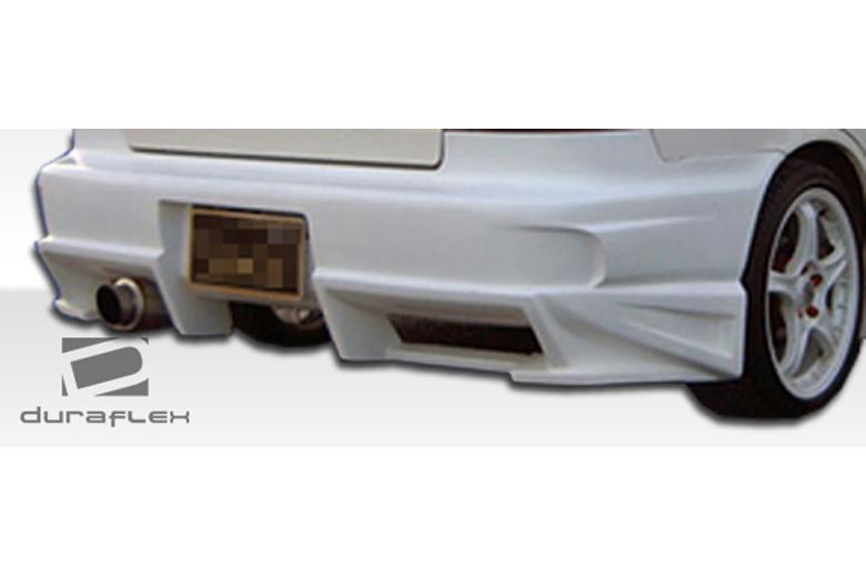 2008 Toyota Matrix Duraflex Bomber Bumper (Rear)