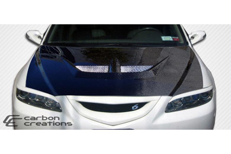 2005 Mazda Mazda 6 Carbon Creations Evo Hood