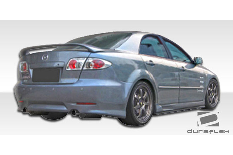 2003 Mazda Mazda 6 Duraflex Dagan Bumper (Rear)