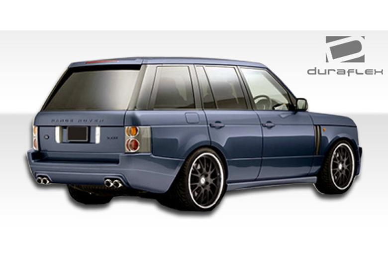 2006 Land Rover Range Rover Duraflex Platinum Sideskirts