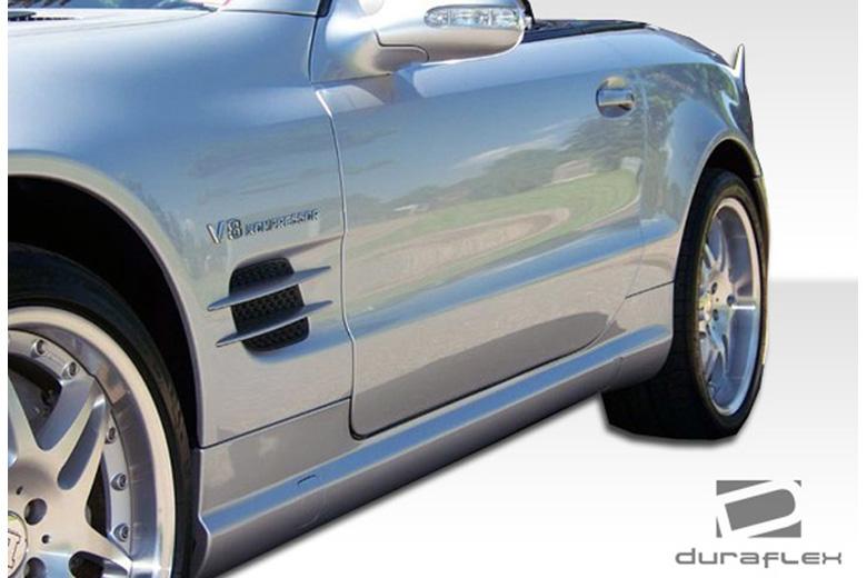 2011 Mercedes SL-Class Duraflex BR-S Sideskirts