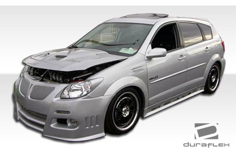 2007 Pontiac Vibe Duraflex Graphite Body Kit
