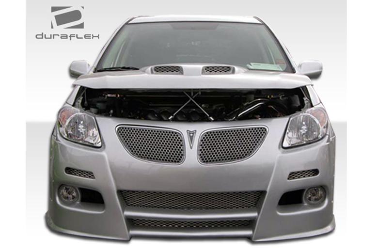 2007 Pontiac Vibe Duraflex Graphite Bumper (Front)