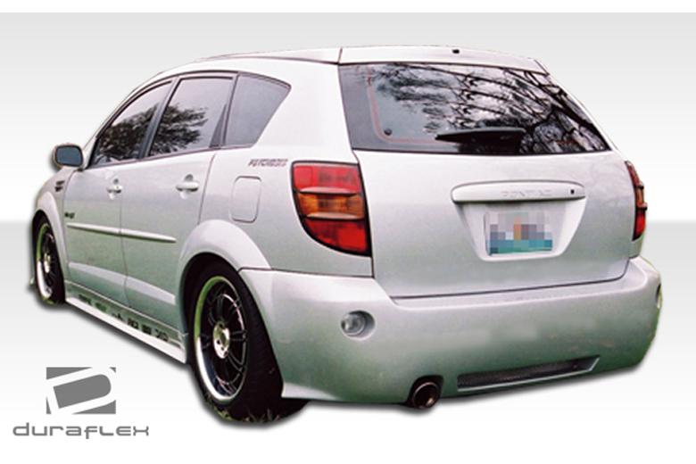 2007 Pontiac Vibe Duraflex Graphite Bumper (Rear)