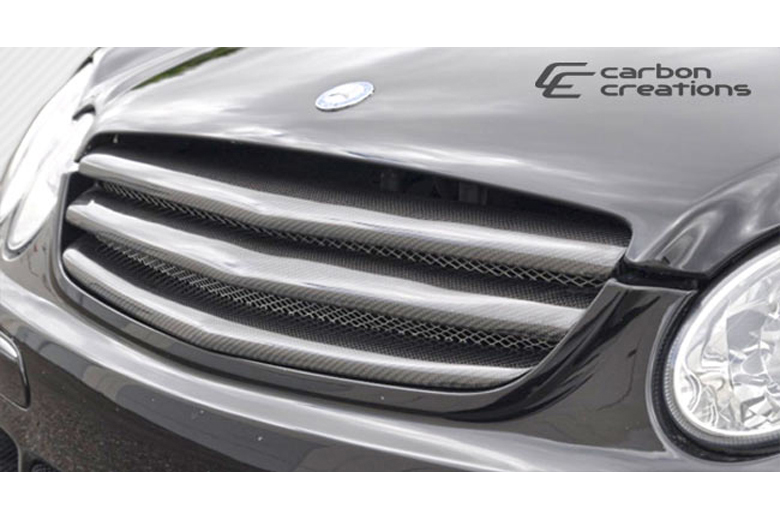 2008 Mercedes CLK-Class Carbon Creations Morello Edition Grill