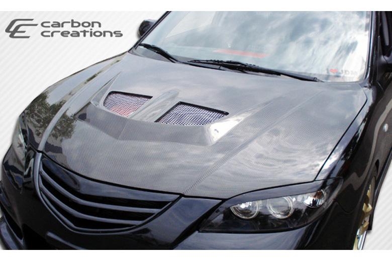 2006 Mazda Mazda 3 Carbon Creations Evo Hood