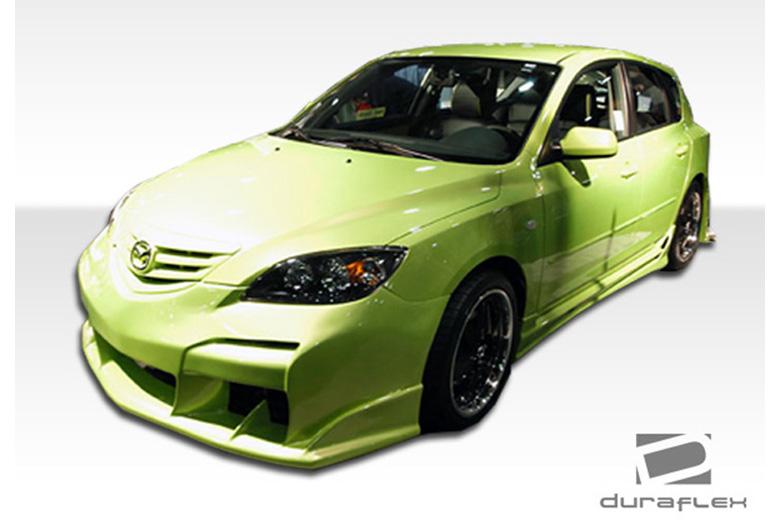 2008 Mazda Mazda 3 Duraflex Raven Body Kit