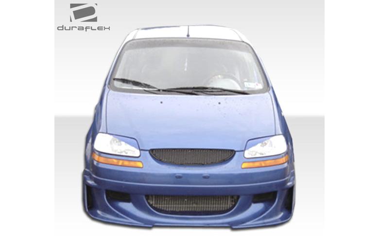 2006 Chevrolet Aveo Duraflex Racer Front Lip (Add On)