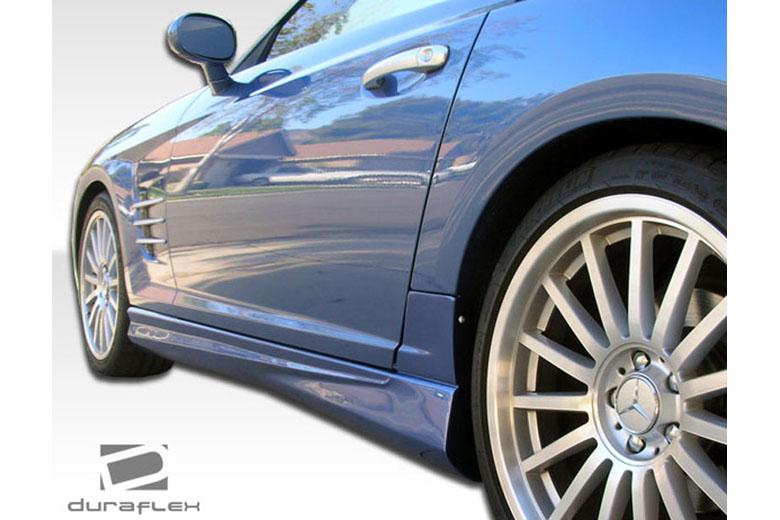 2007 Chrysler Crossfire Duraflex AMG Look Sideskirts
