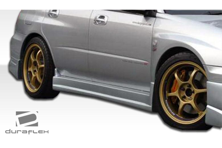 2007 Subaru WRX Duraflex C-Speed Sideskirts
