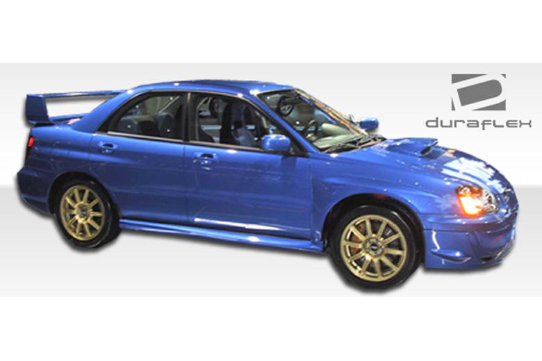 2007 Subaru WRX Duraflex STI Look Sideskirts