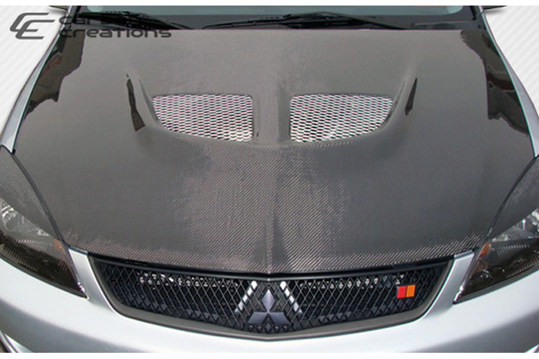 2004 Mitsubishi Lancer Carbon Creations Evo Hood