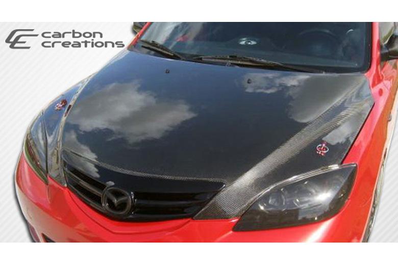 2006 Mazda Mazda 3 Carbon Creations Hood