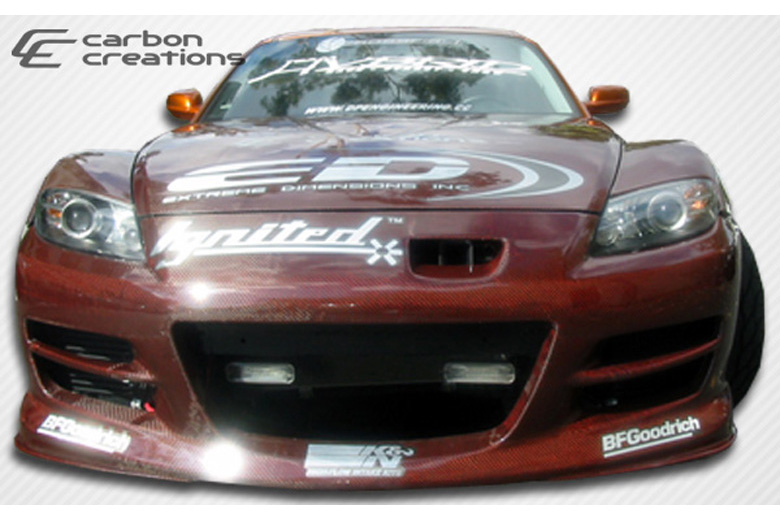2006 Mazda RX-8 Carbon Creations GT Competition Bumper (Front)