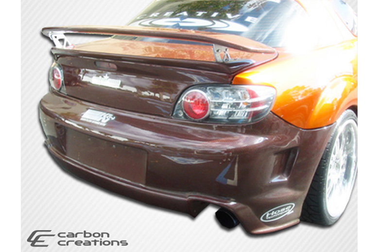 2006 Mazda RX-8 Carbon Creations GT Competition Bumper (Rear)
