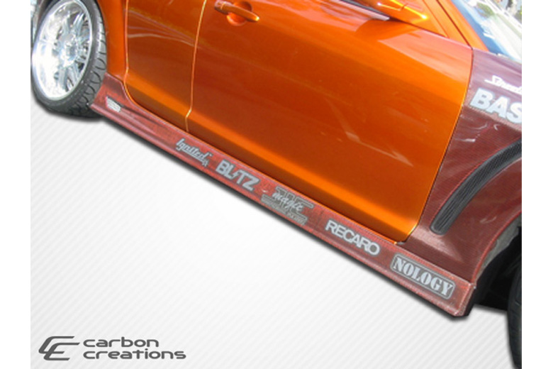 2006 Mazda RX-8 Carbon Creations GT Competition Sideskirts