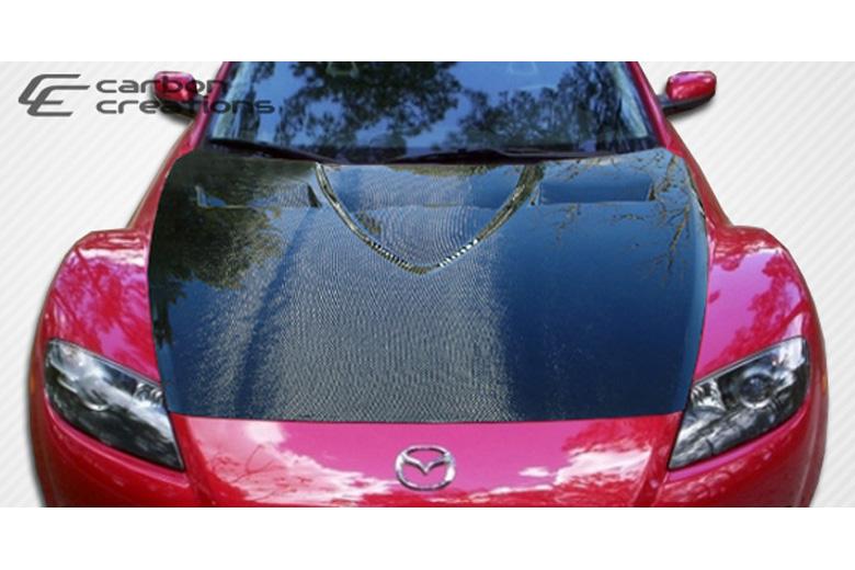 2005 Mazda RX-8 Carbon Creations GT Concept Hood