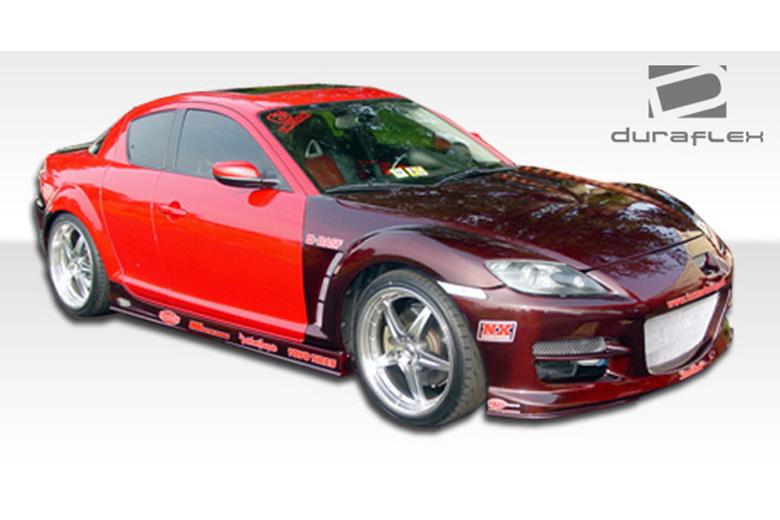 2009 Mazda RX-8 Duraflex GT Competition Sideskirts