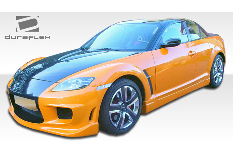 2009 Mazda RX-8 Duraflex I-Spec Sideskirts