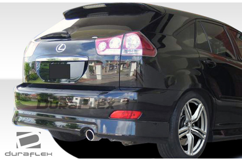 2007 Lexus RX Duraflex Platinum Rear Lip (Add On)