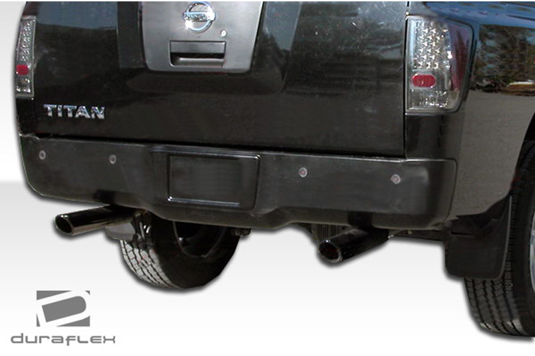 2009 Nissan Titan Duraflex N-1 Rear Lip (Add On)