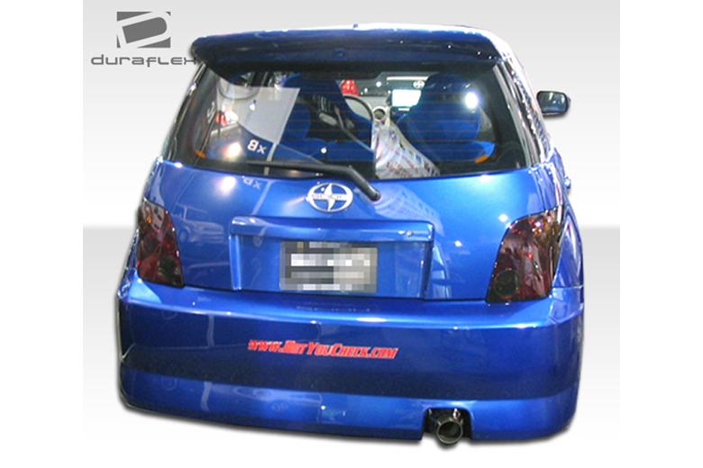 2004 Scion xA Duraflex FAB Bumper (Rear)