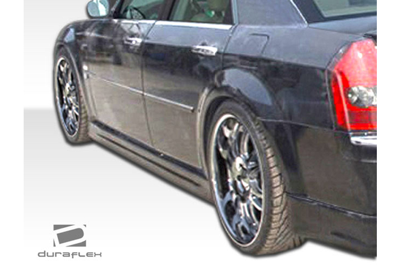 2008 Chrysler 300 Duraflex Brizio Sideskirts