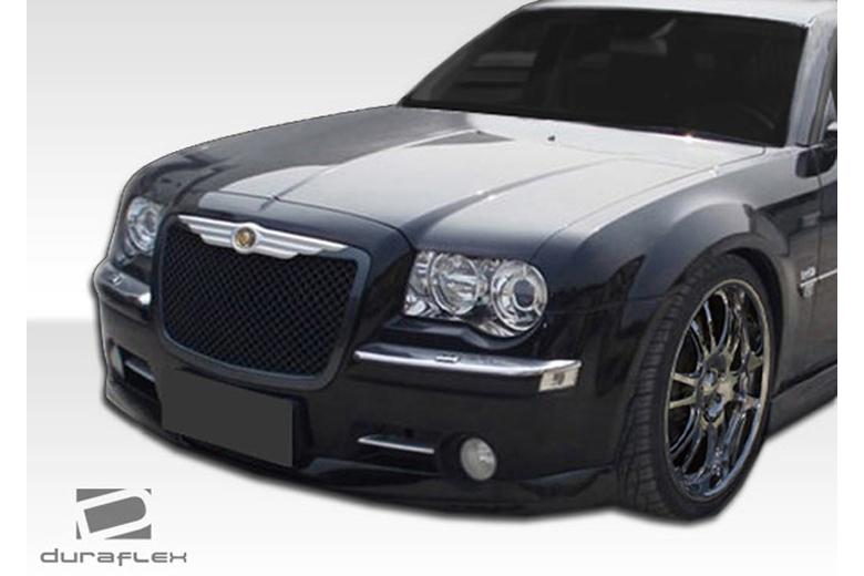 2009 Chrysler 300C Duraflex Brizio Front Lip (Add On)
