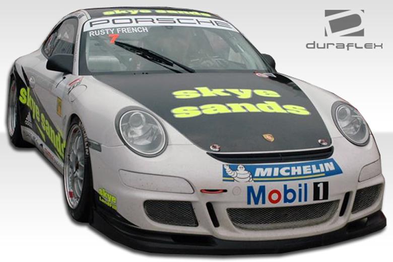 2009 Porsche 911 Duraflex Cup Car Bumper (Front)
