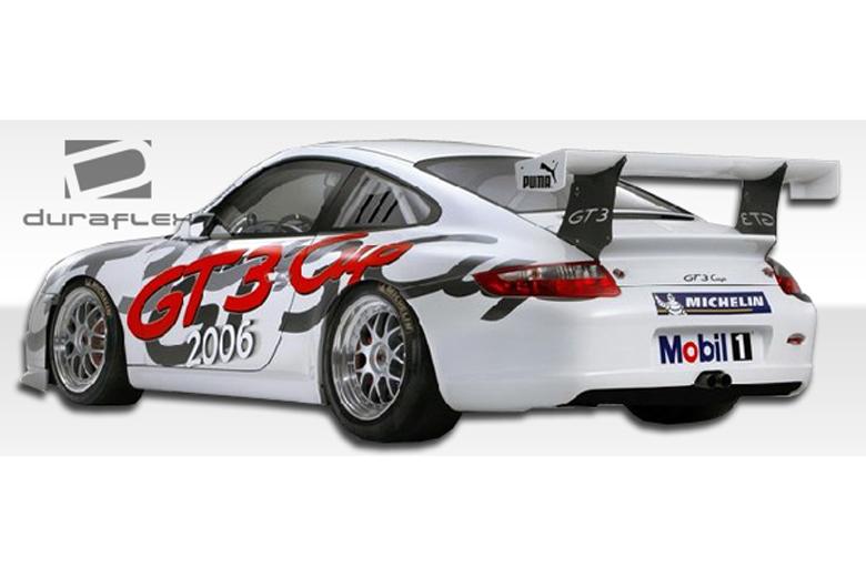 2007 Porsche 911 Duraflex Cup Car Bumper (Rear)