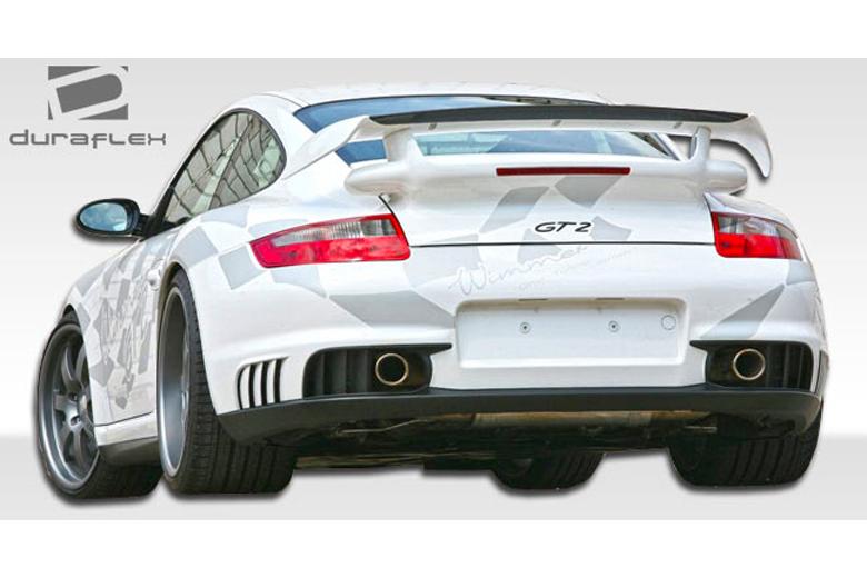 2007 Porsche 911 Duraflex GT-2 Bumper (Rear)