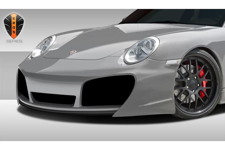 2009 Porsche 911 Duraflex Eros Version 1 Front Lip (Add On)